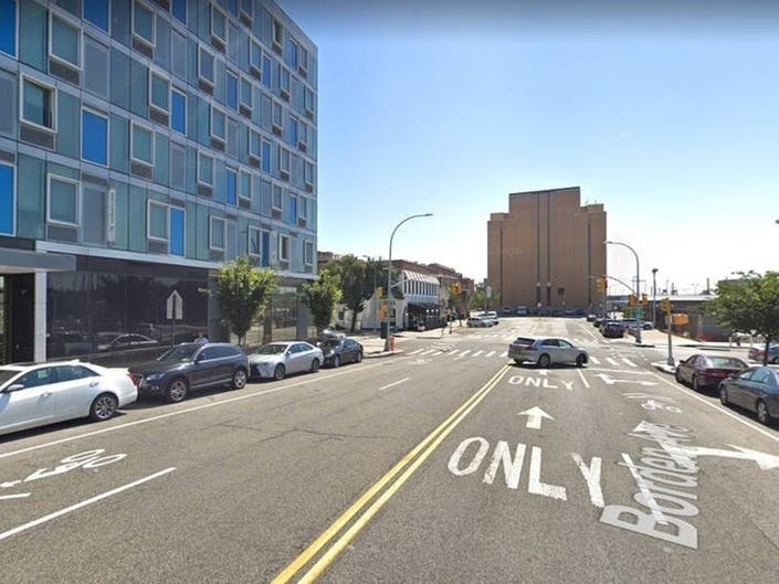 At LIC Spot Where Cyclist Killed, Shorter Light But No Bike Lane