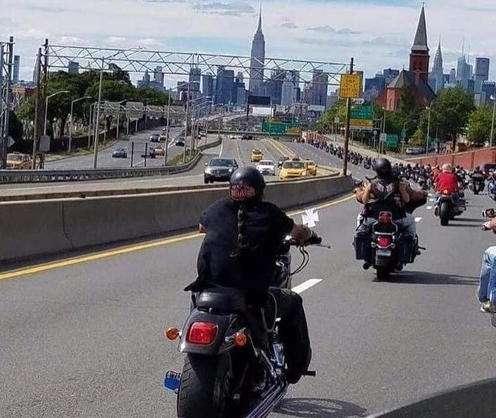 Participants In Forest Hills Moto Ride Hit With Red Light Tickets