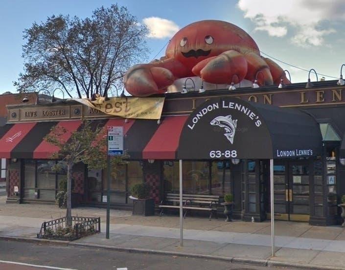 London Lennie's Seafood Restaurant.