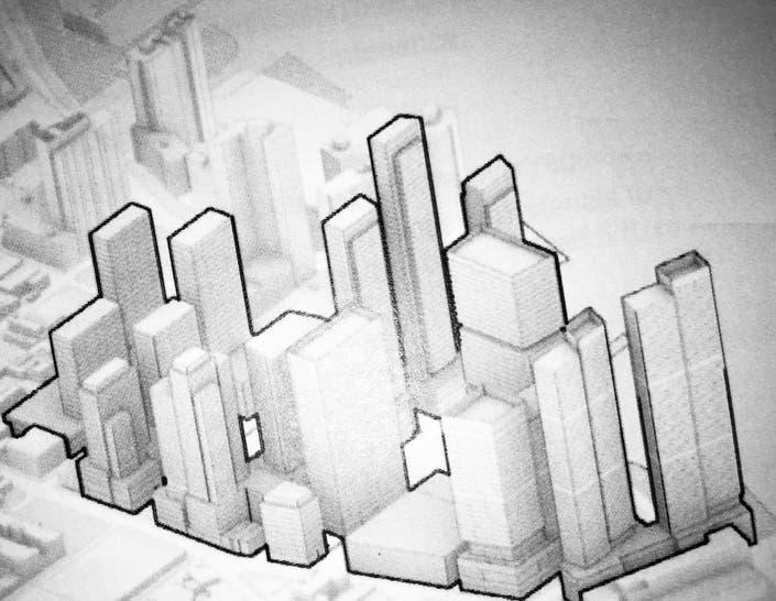 Long Island City waterfront rendering