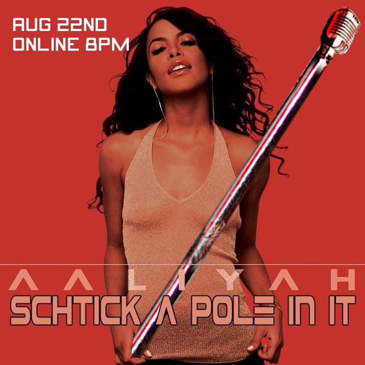 Schtick A Pole In It: Aaliyah Edition