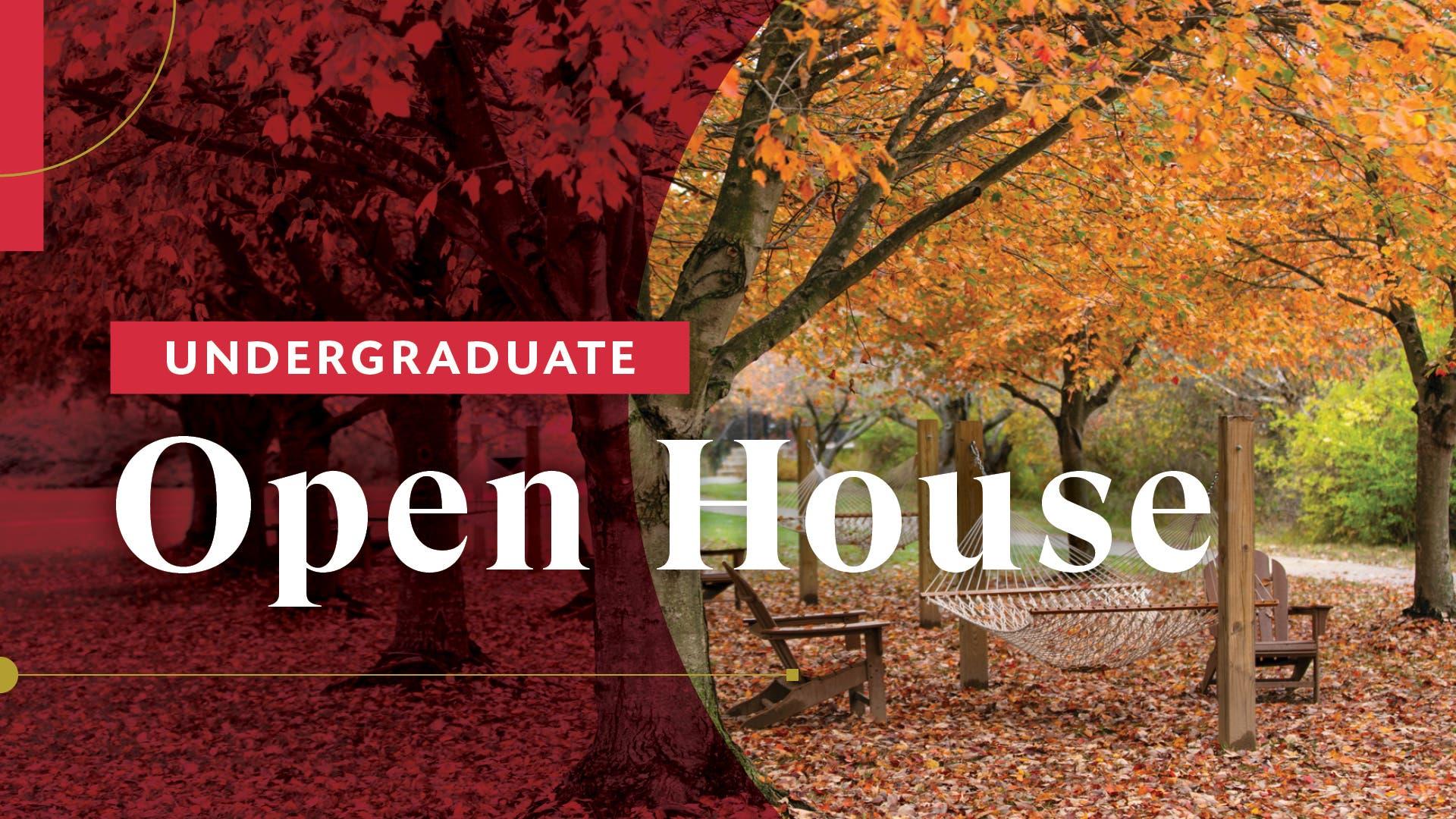 Rider University Undergraduate Open House