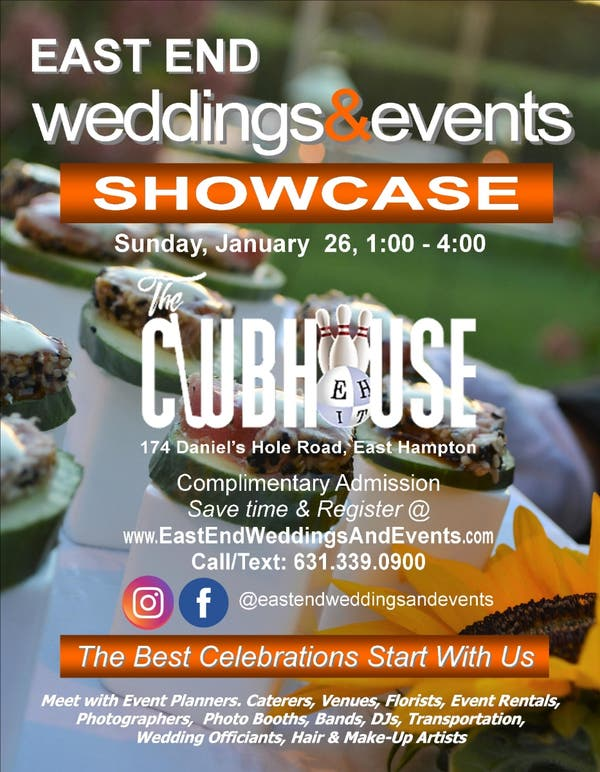 Hamptons Real Estate Showcase: East End Weddings & Events Expo / Showcase