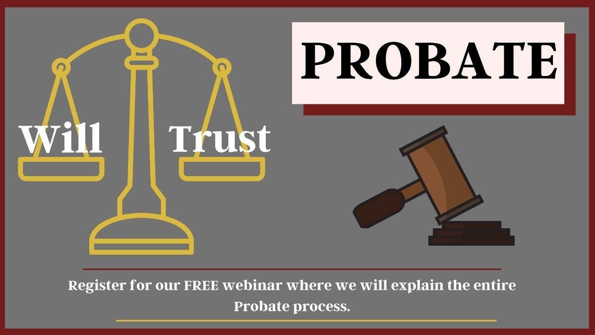 FREE Online Probate Webinar - The Hayes Law Firm