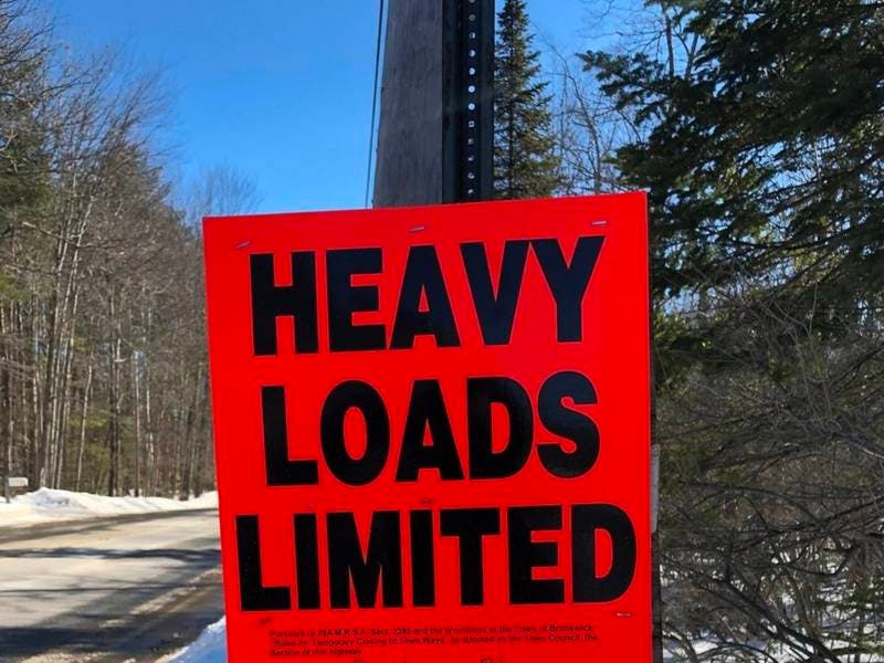 Seasonal Load Restrictions Ordered For NH Highways