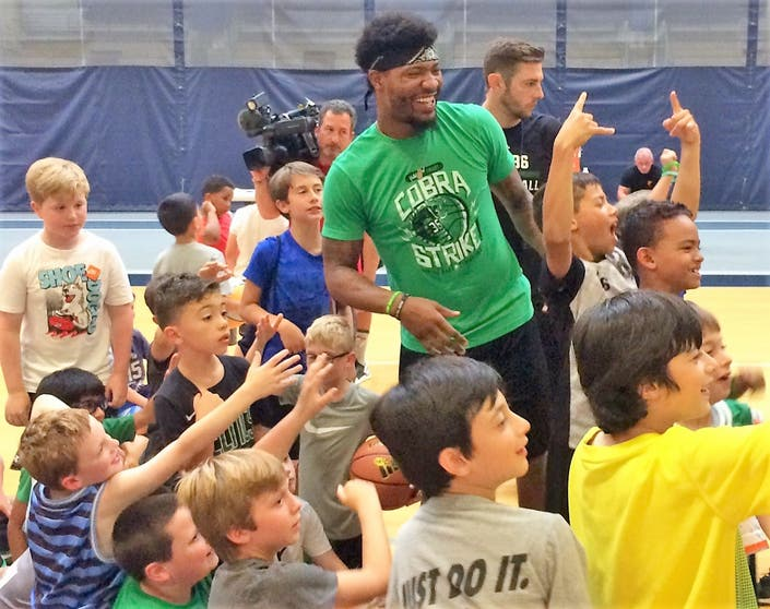 Celtics Guard Marcus Smart Brings Basketball Camp Home To Waltham