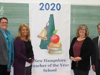 Department Of Corrections Educator Named NH Teacher Of The Year