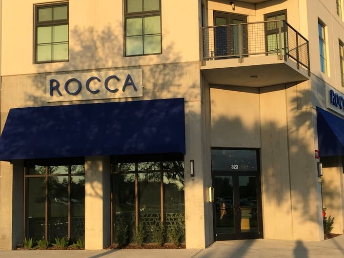 Dining at Rocca is like a quick trip to Italy