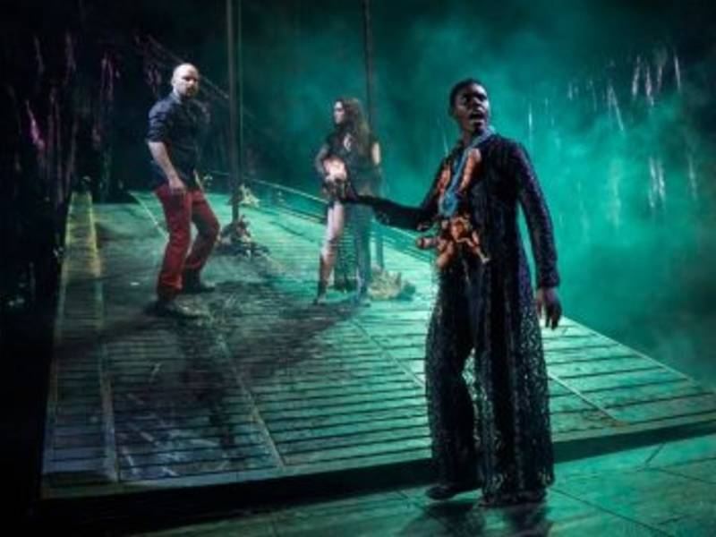 National Theatres Macbeth - at the Morris Museum, March 31