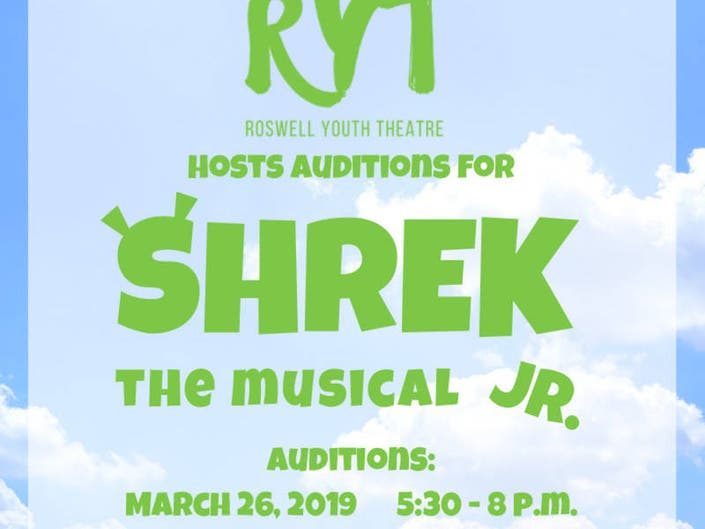 Roswell Youth Theatre Hosts Auditions March 26 For Musical