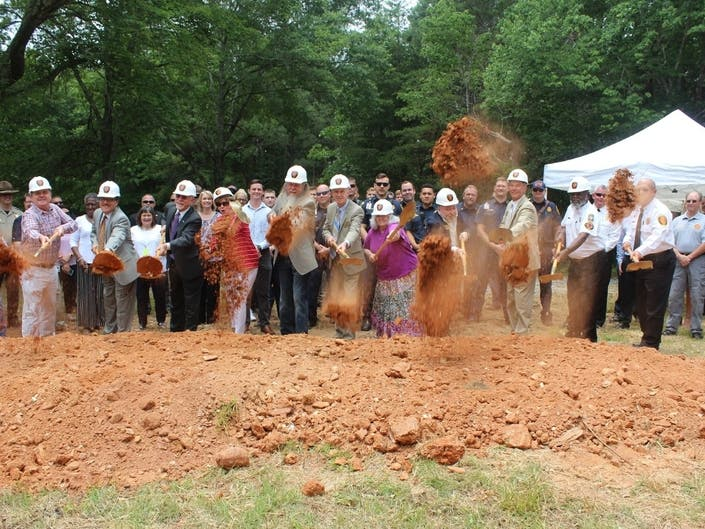 Groundbreaking Ceremony Held For New Cherokee Fire Station