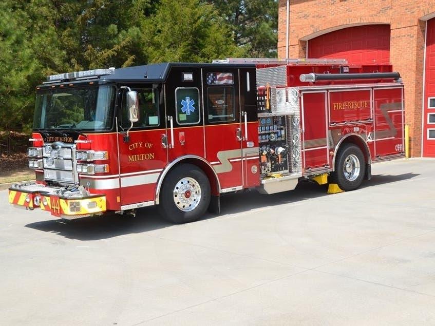 Milton Names New Fire Marshal   Alpharetta, GA Patch