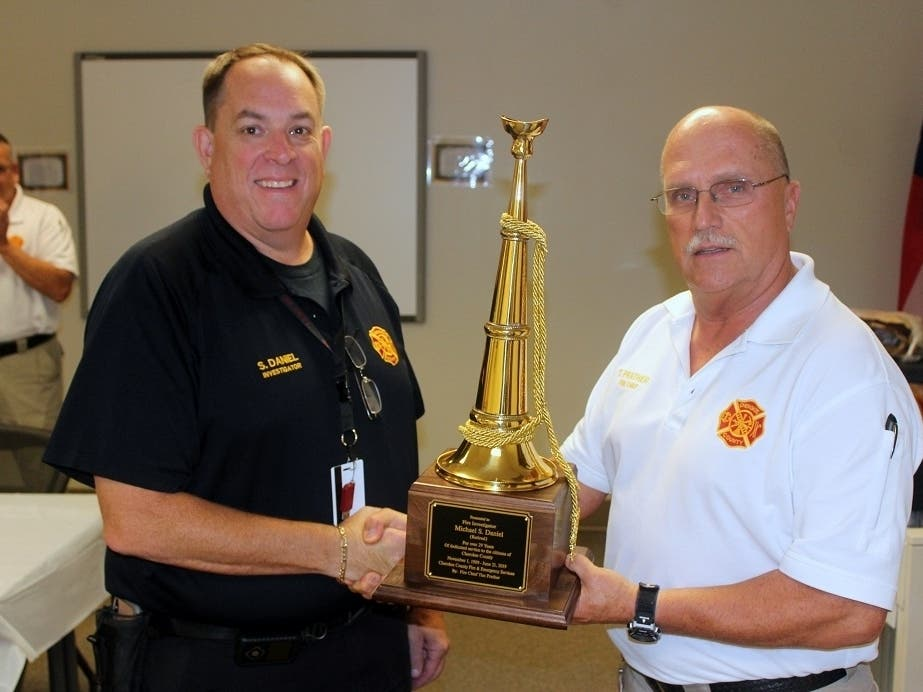 Cherokee Fire Investigator Leaves After 30 Years Of Service