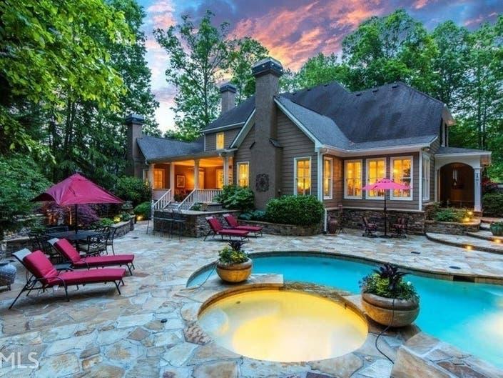 Georgia Dream Homes: Fine Details, Equestrian Estate, Porches