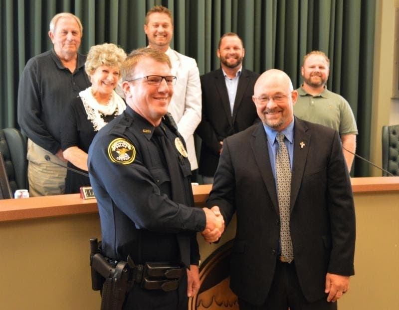 New Police Chief Welcomed In Cumming Cumming Ga Patch