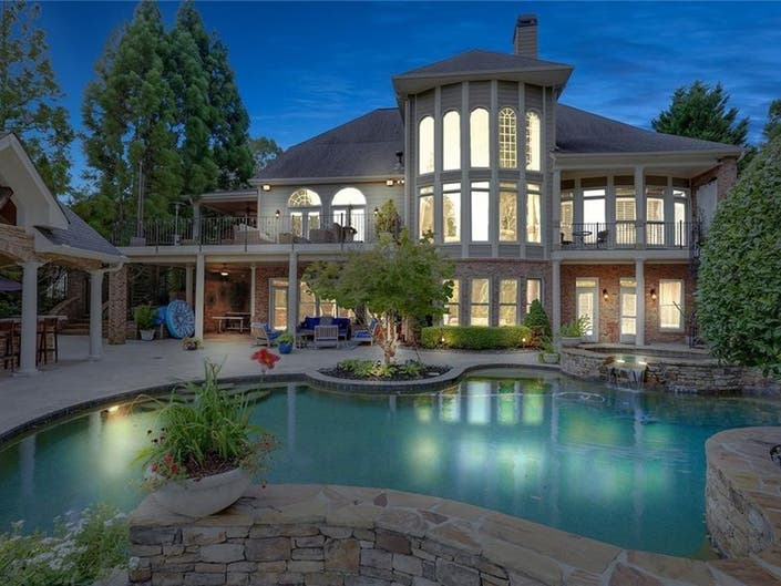 Resort Style Living Offered At Canton Million Dollar Home