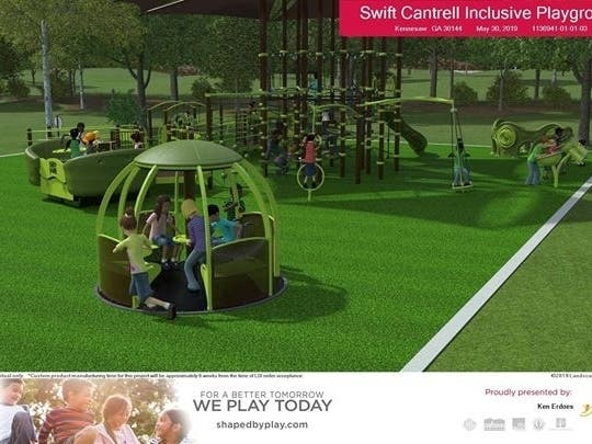 size 40 ec895 bb58c Swift-Cantrell Park Upper Playground To Become Fully ...