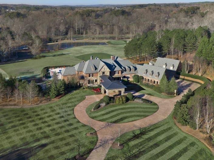 Former Braves Pitcher John Smoltzs $5.2M Milton Estate For Sale