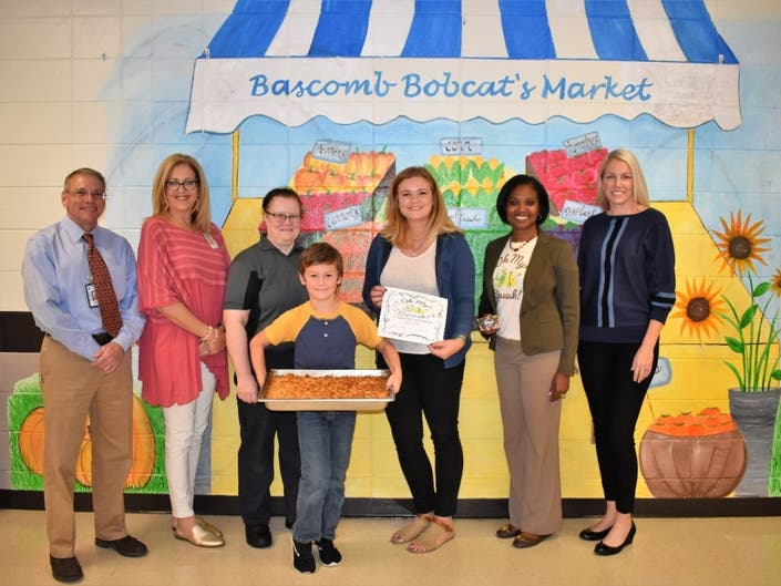 Bascomb ES Mom Squashes The Competition In Recipe Contest