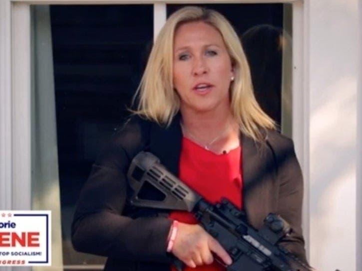 Gun-Toting GA Candidate Has Warning For Antifa | Patch PM