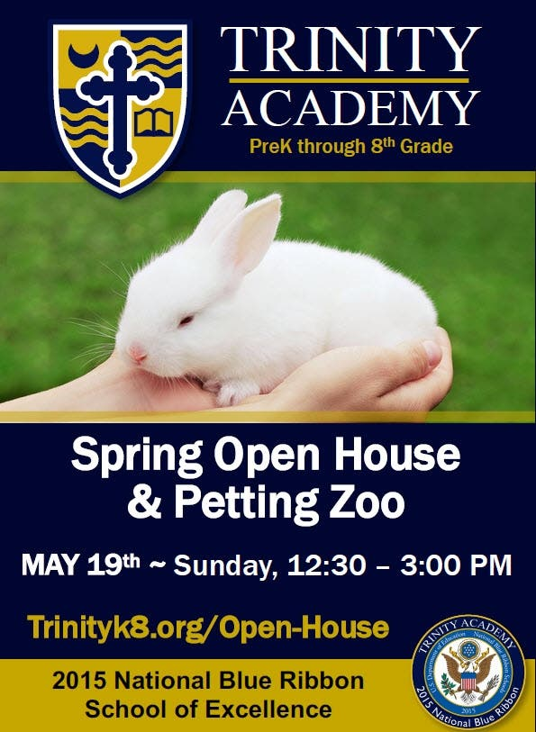 Trinity Academy Hosts Spring Open House And Free Petting Zoo