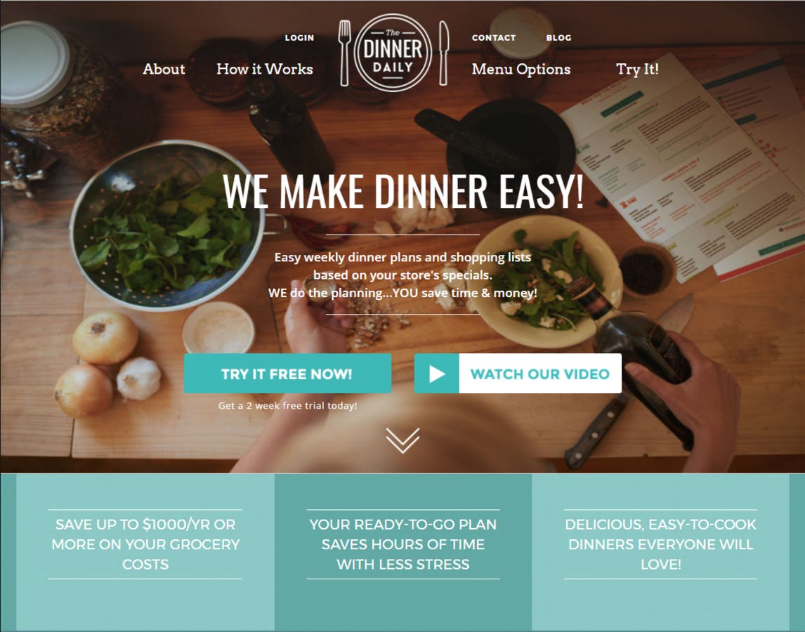 The Dinner Daily Turns Grocery Store Sales into Real Savings