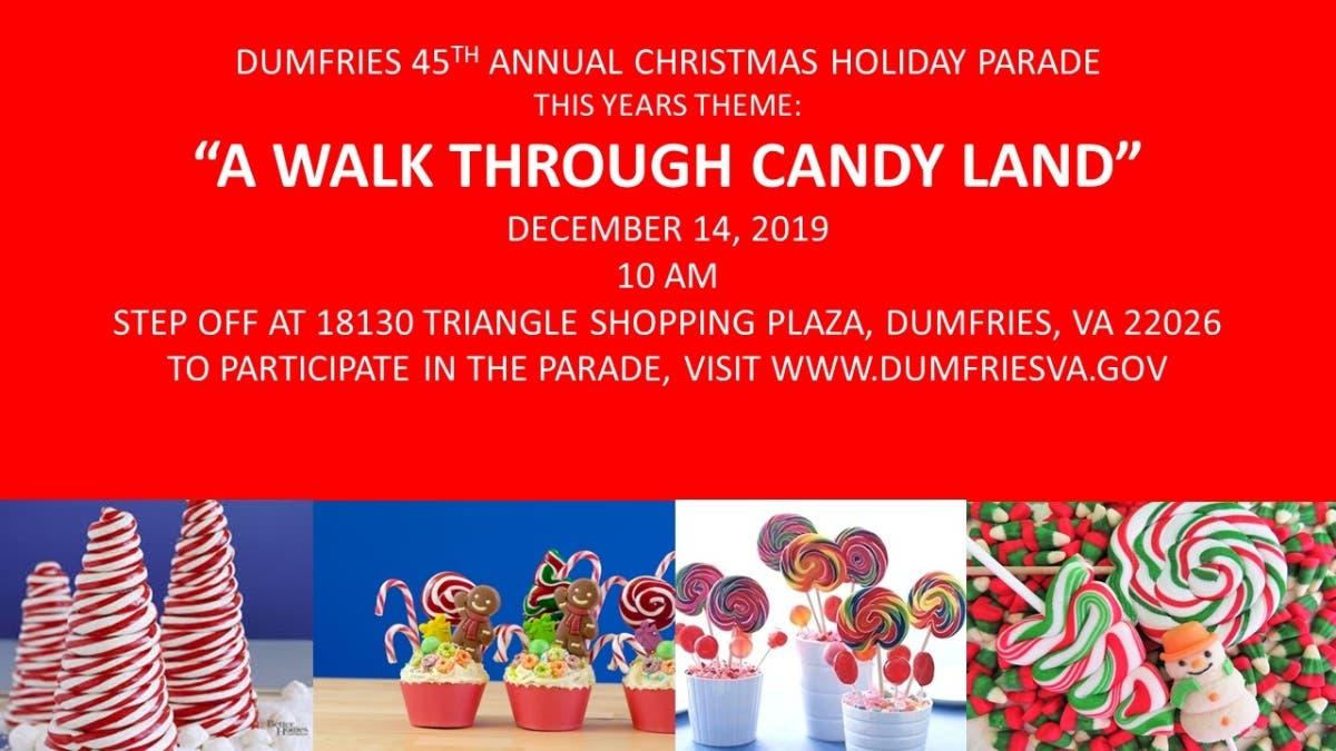 Dumfries Christmas Parade 2020 Dec 14 | Dumfries 45th Christmas Holiday Parade | Woodbridge, VA Patch