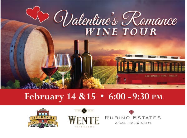 Valentine's ROMANCE WINE Tour