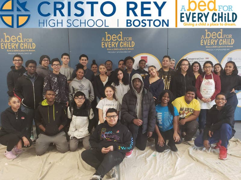 Cristo Rey Boston High School, Gives Back to the Community