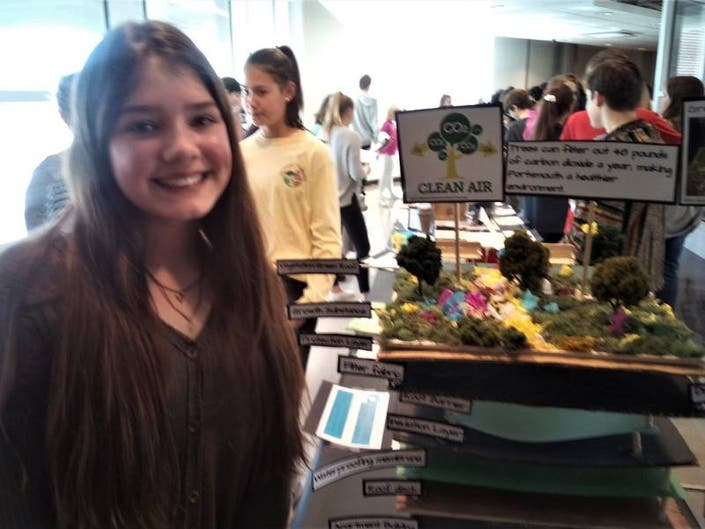Students Showcase Sustainability Ideas For Portsmouth