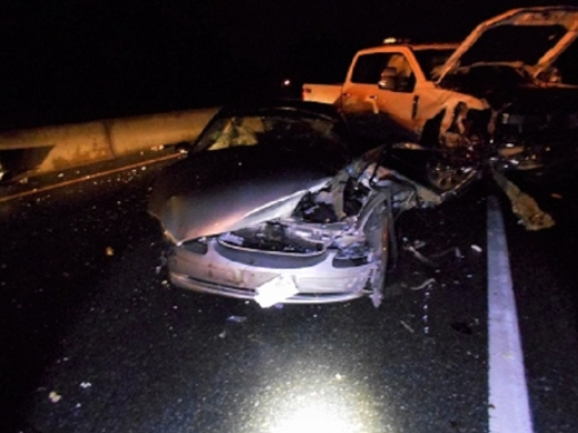 2 Arrested In 3-Vehicle Crash On Hampton's Route 101