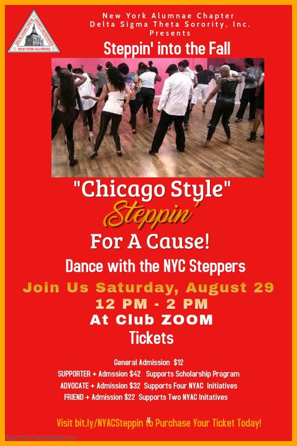 Steppin' For A Cause! Virtual Fundraising Event