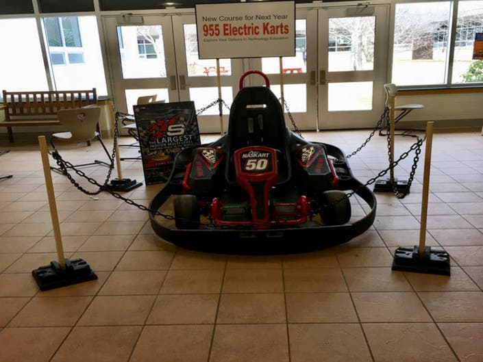 Kart Provided By Super Charged To Help Draw Attention Electric Car Cl Again