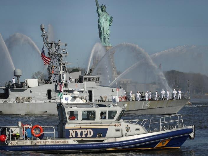 Parade Of Ships Kicks Off Fleet Week In New York City