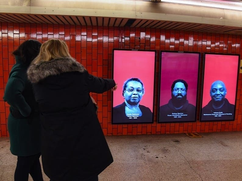 2 West Vill Stations Get Exhibit Honoring MTA Lives Lost To COVID