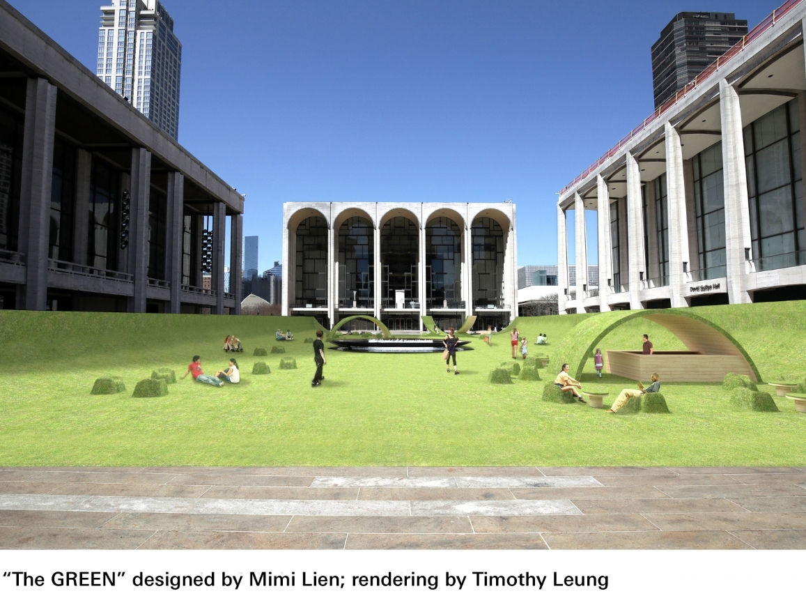 Iconic Lincoln Center Plaza Is About To Get Turned Into A Lawn