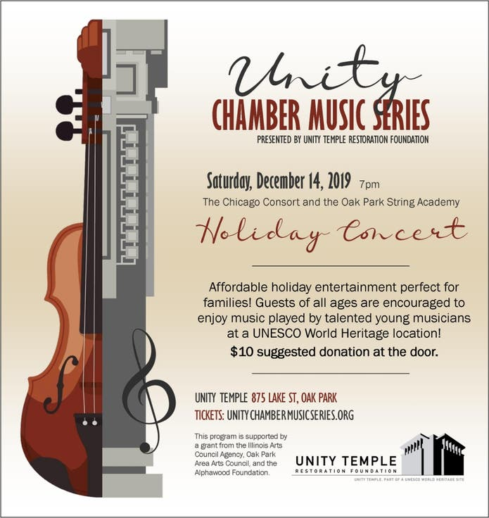 Dec 14 Holiday Youth Chamber Concert Performed By The Chicago Consort Oak Park Il Patch