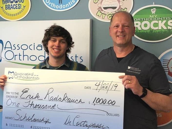 Plainfield Teen Wins Associated Orthodontists Scholarship