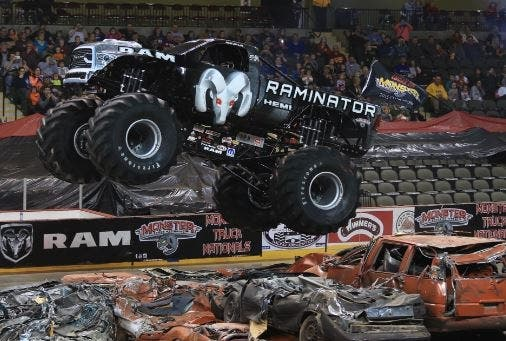 Oct 26 Kahlo Chrysler Dodge Jeep Ram Lets Monster Truck On The Loose In Noblesville In Patch