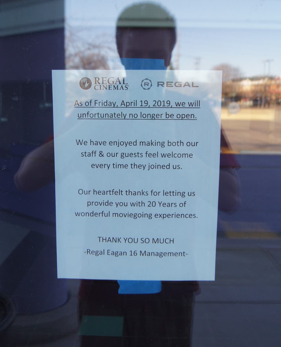Eagan Regal Cinemas 16 Closes After 20 Year Run Eagan Mn