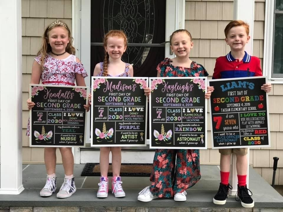 Smithtown First Day Of School Photos Ny Patch