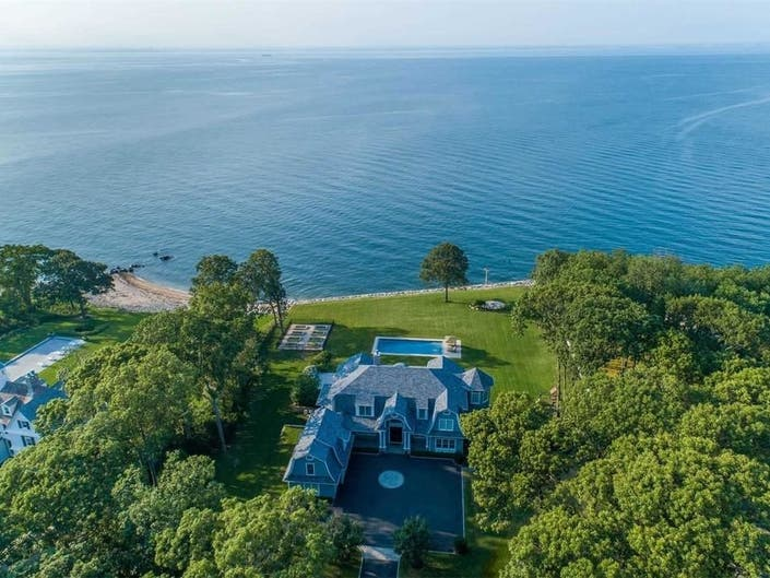 Wow House: Stunning Waterfront Home Has Private Movie Theater