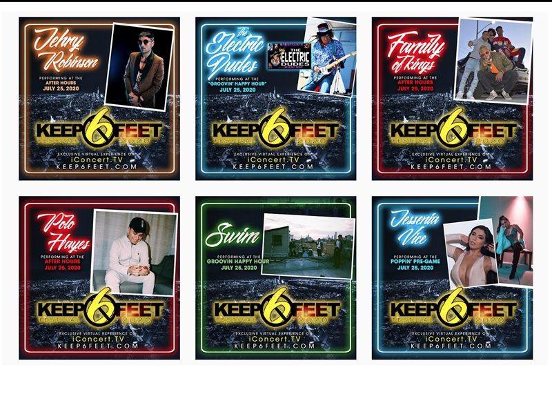 Lineup Set For Long Island-Focused 'KEEP 6 FEET' Fest