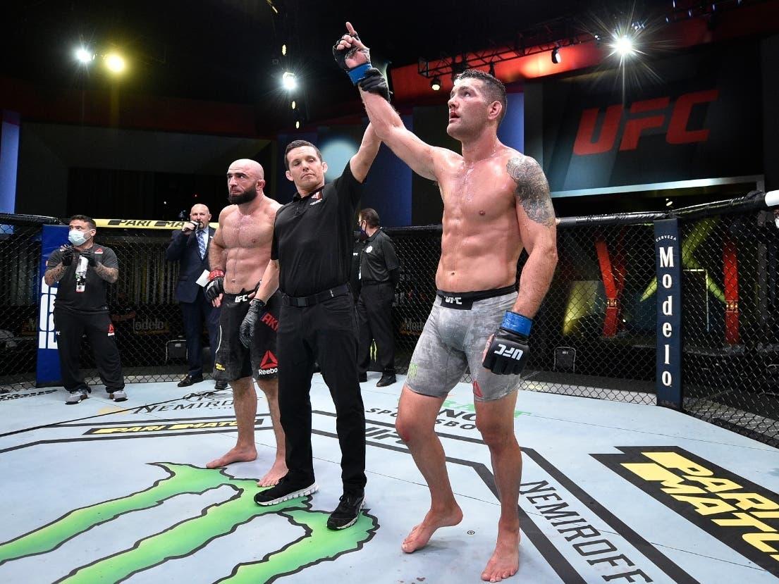 Long Island's Chris Weidman Wins At UFC Vegas 6