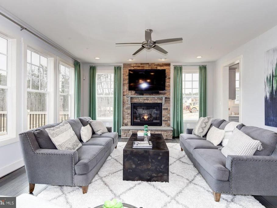 $709K Severn Home Features Rec Room And Vaulted Morning Nook