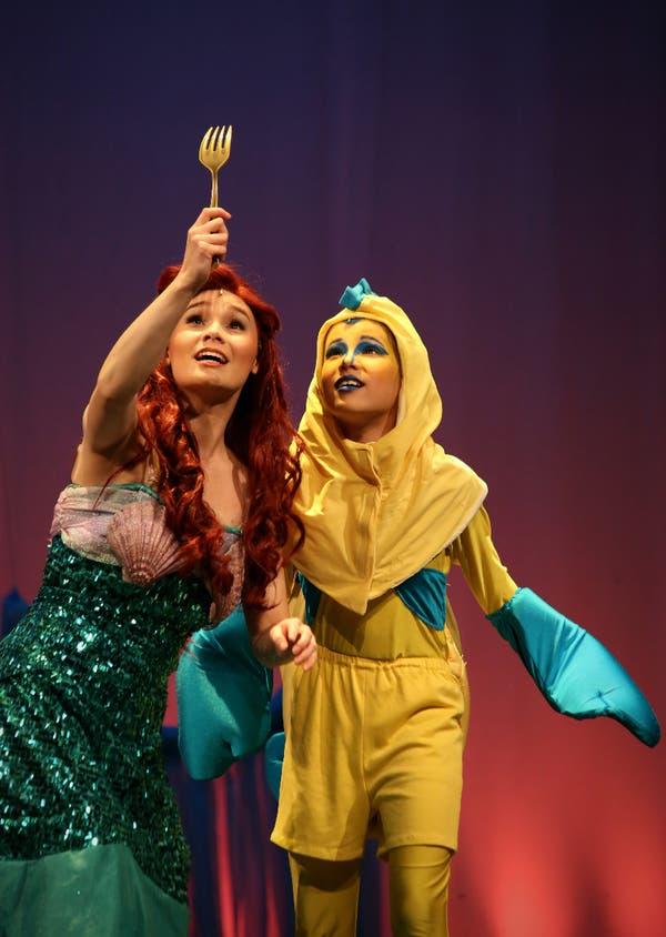 Batavia Sisters Perform In Disney S The Little Mermaid