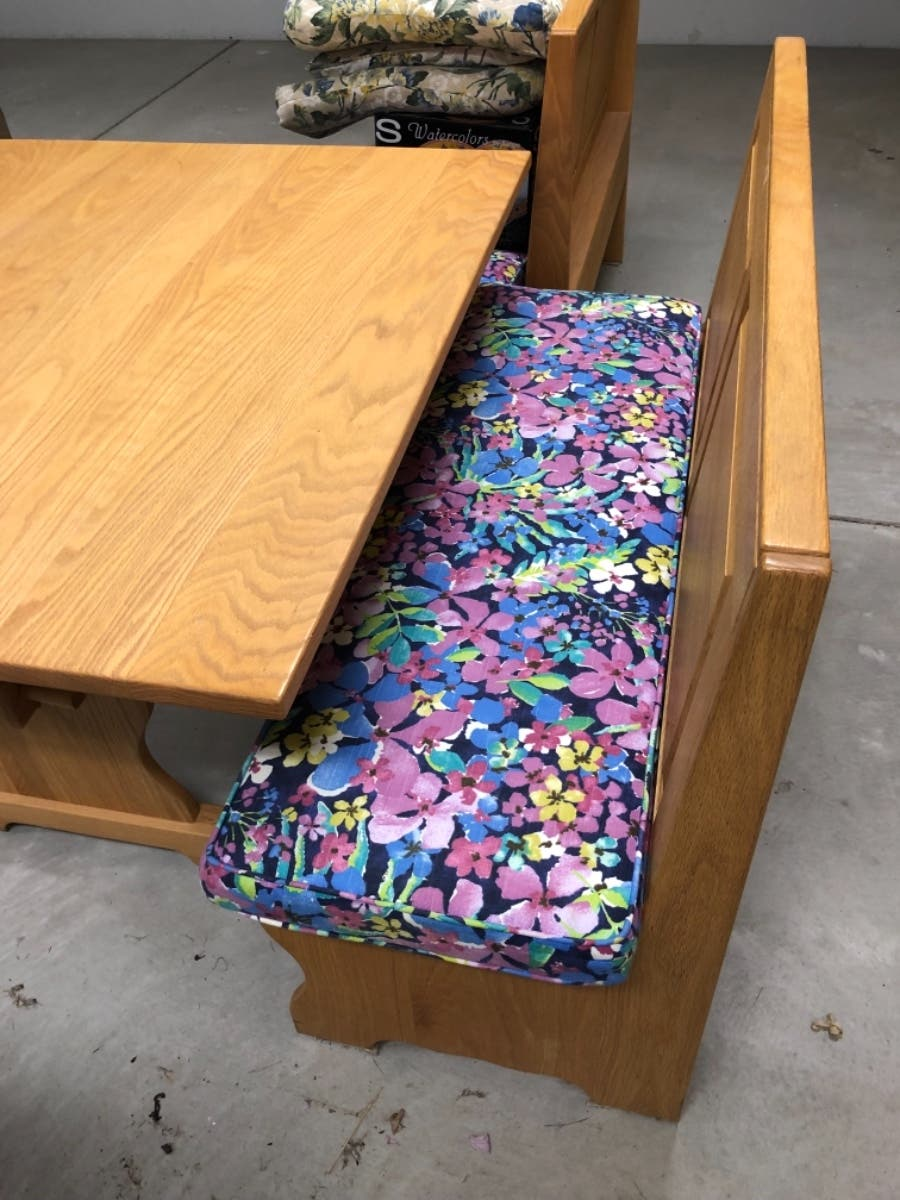 Kitchen Table and benches with storage - Ocean City, NJ Patch