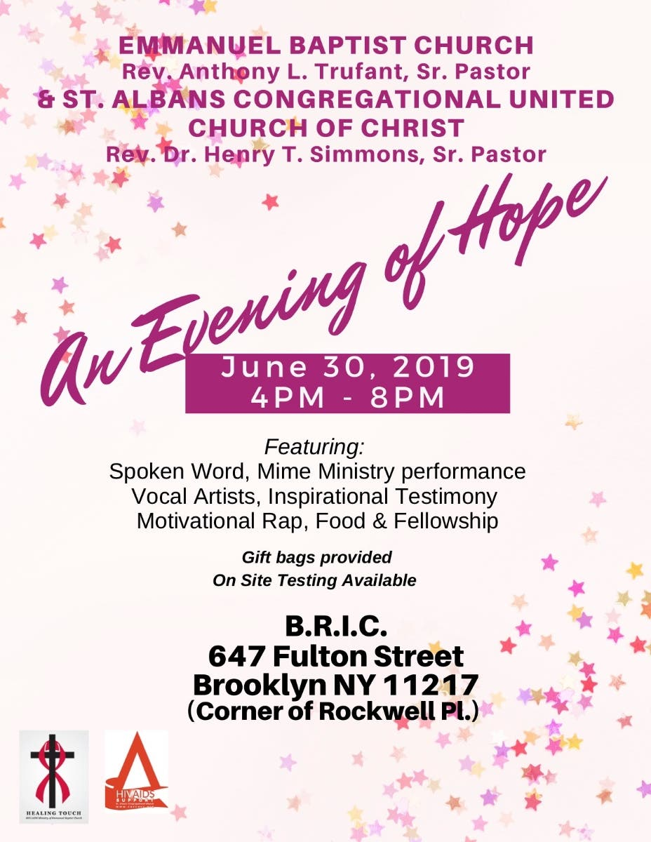 Evening of Hope - Bed-Stuy, NY Patch