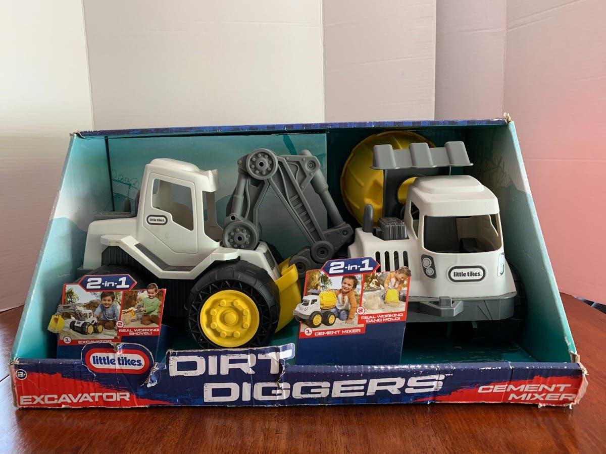 Little Tikes Dirt Diggers 2 in 1 Trucks