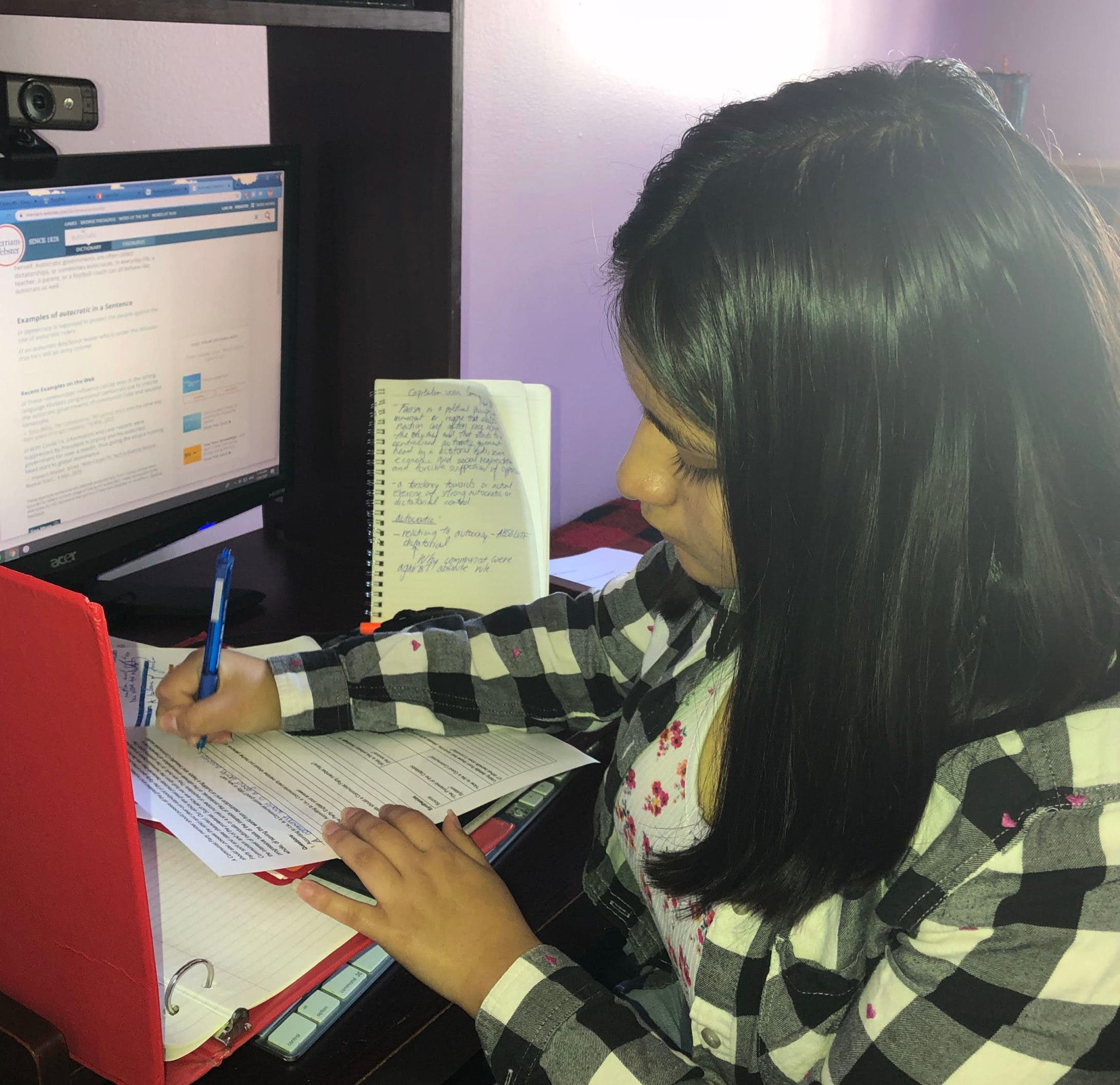Siblings, Cats, Other Disruptions: NYC Students Reflect On Online Learning